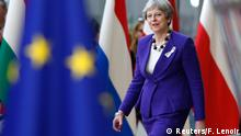 Belgien EU-Gipfel - Theresa May