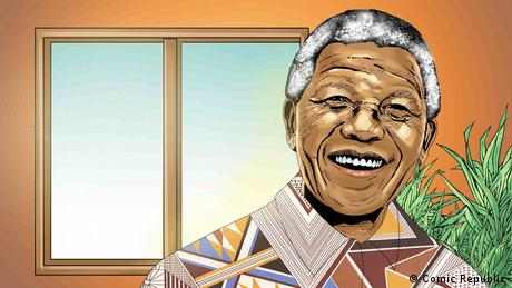 African Roots Nelson Mandela (Comic Republic)