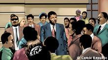 African Roots Nelson Mandela Rechte: Comic Republic