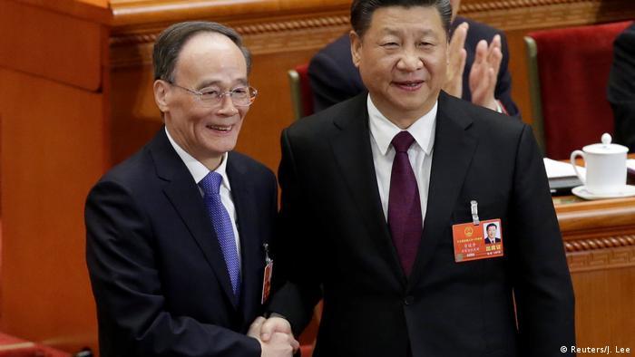 Wang Qishan Chinas neuer Vizepräsident