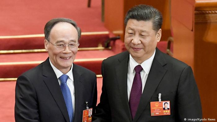 Wang Qishan Chinas neuer Vizepräsident (imago/Kyodo News)