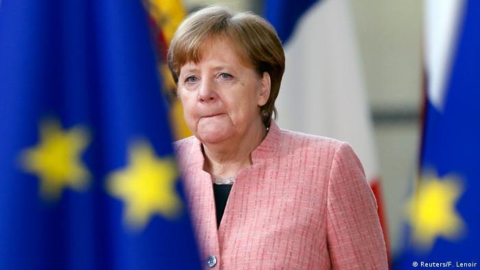 Ангела Меркель, Брюссель, 22 марта 2018 г.