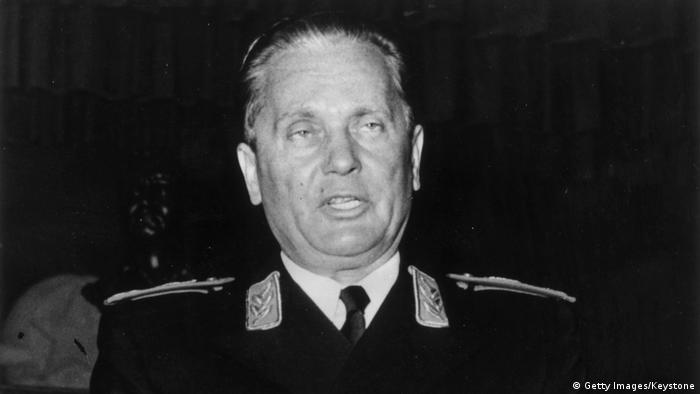 Josip Broz Tito Rede in Jajce (Getty Images/Keystone)