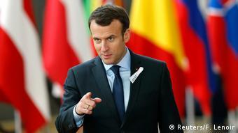 Belgien EU-Gipfel - Emmanuel Macron