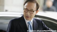Südkorea - ehemalige südkoreanische Präsident Lee Myung-bak