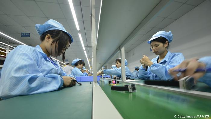 Apple factory in China (Getty Images/AFP/STR)