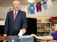 Frank-Walter Steinmeier, ministro de Exteriores y candidato socialdeocrata a la cancillería.