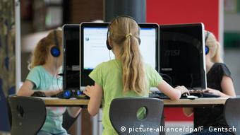 Computers in a German school