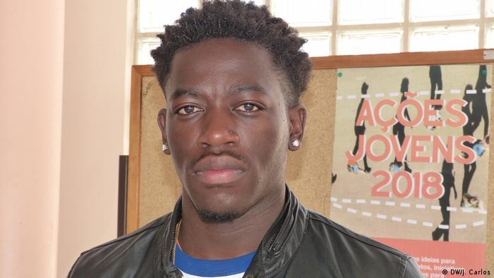 Emerson Azevedo, afrikanisch Student in Portugal.