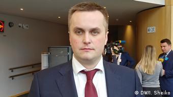 Назар Холодницький у Брюсселі