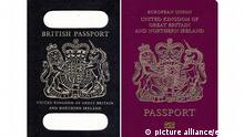 Brexit Passport Reisepass EU UK