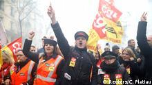Landesweiter Streik in Frankreich Ausschreitungen