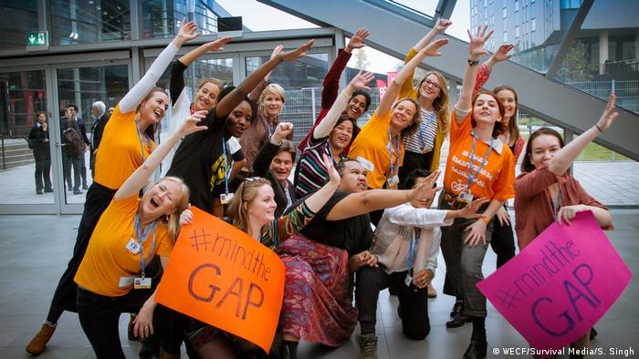 COP23 Proteste für Frauenrechte / Gleichberechtigung