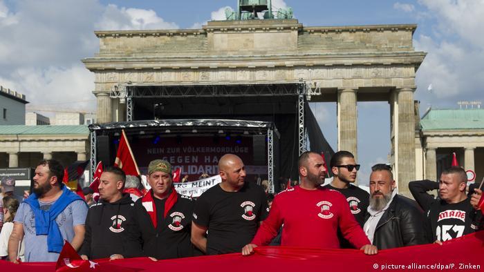 Протест на Османците пред Бранденбургската врата