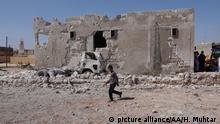Luftangriffe auf Syriens Idlib