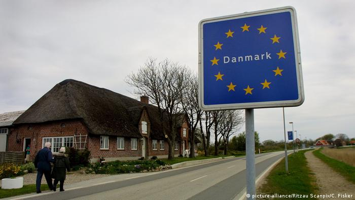 Border between Denmark and Germany