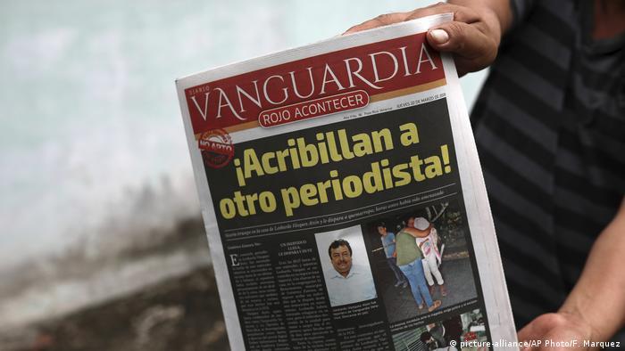 Mexiko Ermordung Journalist Leobardo Vazquez