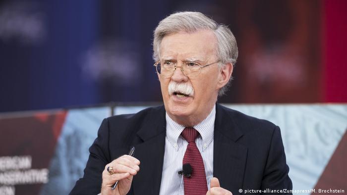 جان بولتون، مشاور امنیت ملی آمریکا