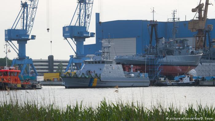 Deutschland Lürssen Werft Küstenschutzboot für Saudi-Arabien
