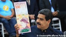 Venezuela Präsident Nicolas Maduro neue Währung Bolivar