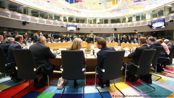 EU-Gipfel in Brüssel (picture-alliance/dpa/D. Tatic/Bundeskanzleramt)