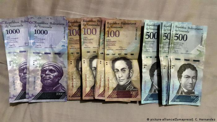 New Venezuelan currency (picture-alliance/Zumapress/J. C. Hernandez)