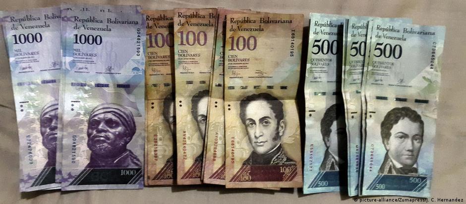 O que em 1º de janeiro de 2018 custava 1 bolívar, custa atualmente 17 mil bolívares