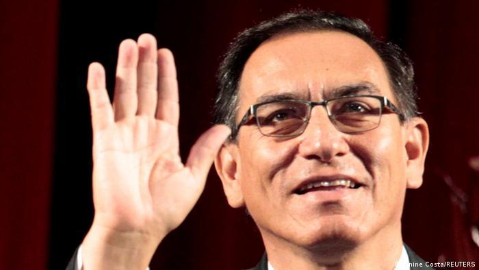 Peru Martín Vizcarra (Reuters/J. Costa)