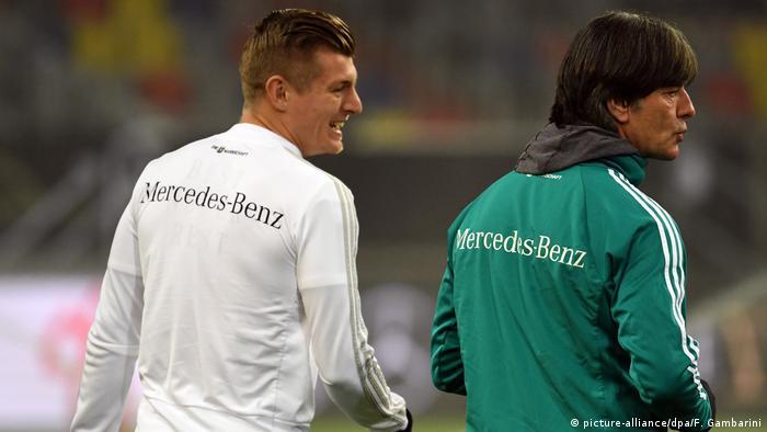 Löw deve manter Toni Kroos para a partida contra o Brasil 289fa25608219
