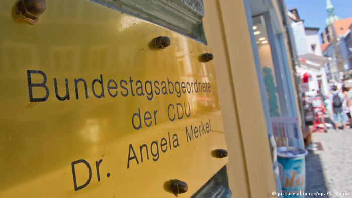 Stralsund Wahlkreisbüro von Angela Merkel