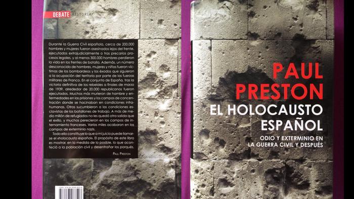 Buch-cover El Holocausto español