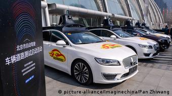 22 марта 2018 интернет-гигант Baidu начал тестировать в Пекине самоуправляемые автомобили