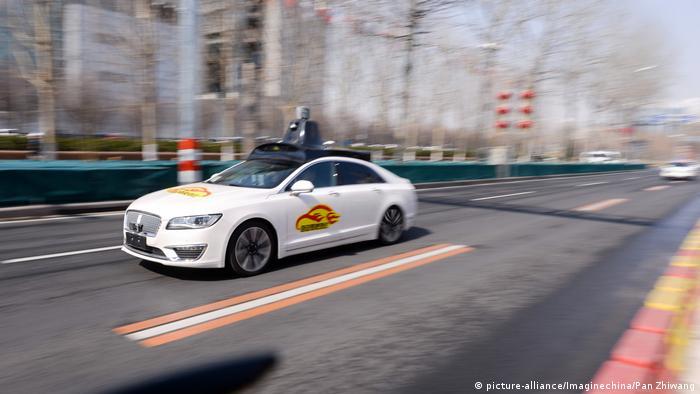 Tvrtka Baidu već testira automobil za vožnju bez vozača.