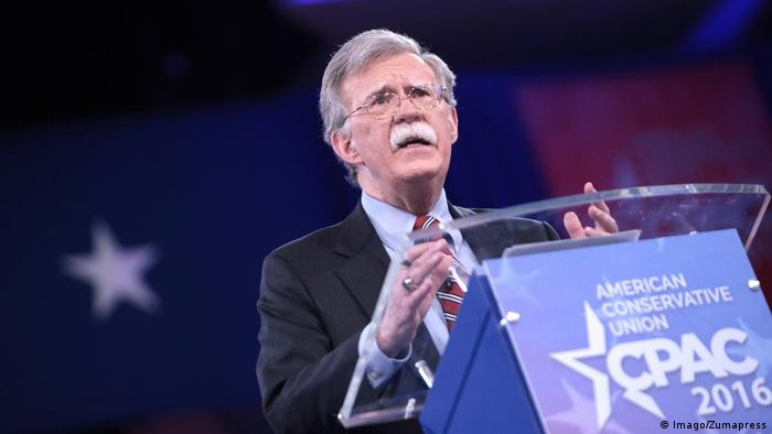 US National Security Adviser John Bolton