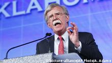 Former United Nations Ambassador John Bolton speaks at the Southern Republican Leadership Conference in Oklahoma City on Friday, May 22, 2015. (AP Photo/Alonzo Adams) |