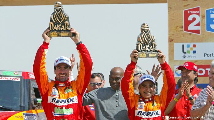 Rallye Dakar: Alphand/Picard gewinnen erstmals (picture-alliance/dpa/M. Maindru)