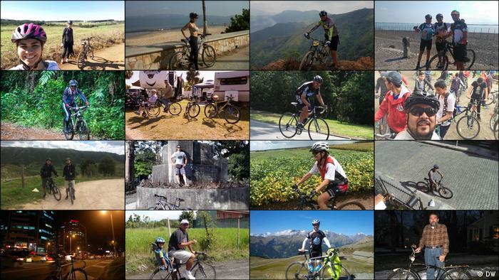 DW Euromaxx Zuschaueraktion Fahrrad Collage