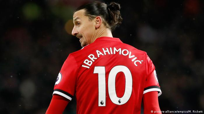 Manchester United - Zlatan Ibrahimovic (picture-alliance/empics/M. Rickett)