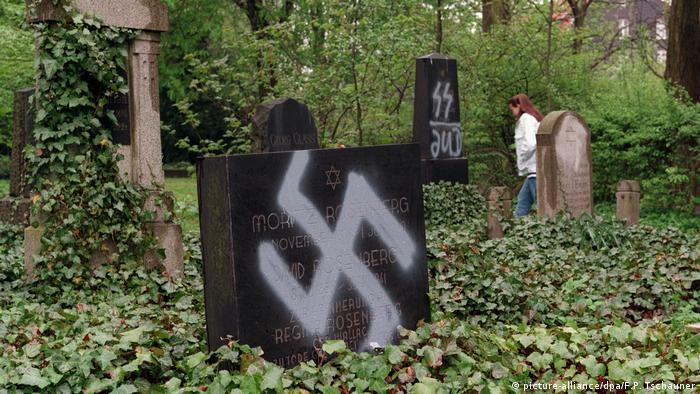 Jüdischer Friedhof in Dortmund geschändet