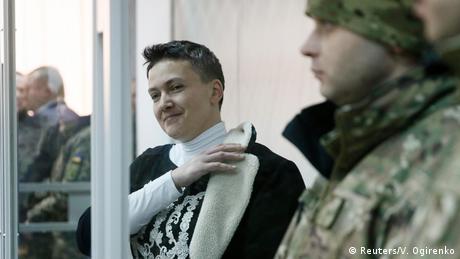 Надія Савченко: У влади одна відповідь -