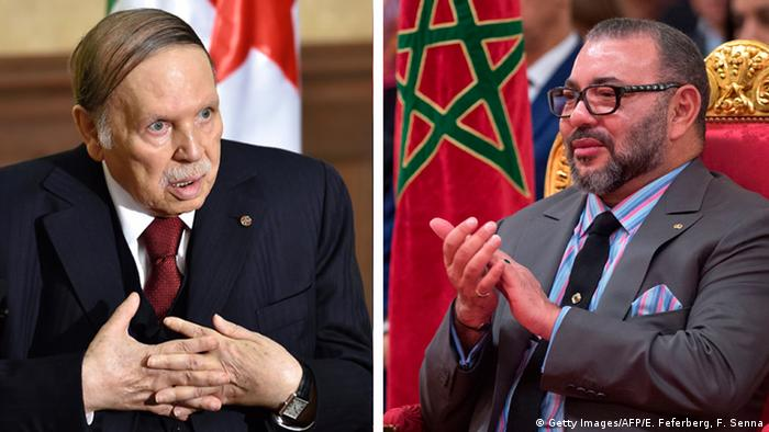 Algerien Marokko - Bouteflika und König Mohammed (Getty Images/AFP/E. Feferberg, F. Senna)