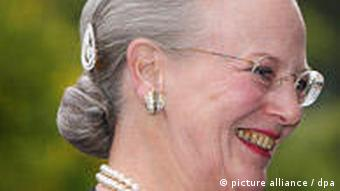 Danish Queen Margerethe smiles as she arrives at the Statens Museum for Kunst in Copenhagen, Denmark, 19 May 2009