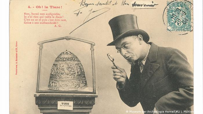 Открытка-карикатура 1903 года