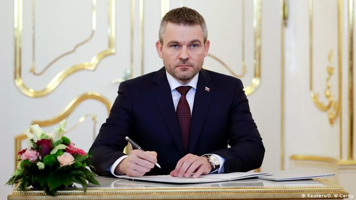 Slovakei - Neuer Premier der Slowakei - Peter Pellegrini