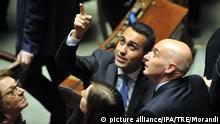 Rome, First session of the Chamber of Deputies of the XVIII legislature Luigi Di Maio |