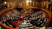 General view of the Senate during the first session since the March 4 national election in Rome, Italy March 23, 2018. REUTERS/Remo Casilli