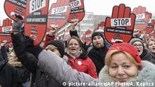 Polen - Proteste gegen strengere Abtreibungsgesetze