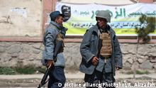 Afghanistan - Selbstmordanschlag in Kabul (picture alliance/Photoshot/R. Alizadah)