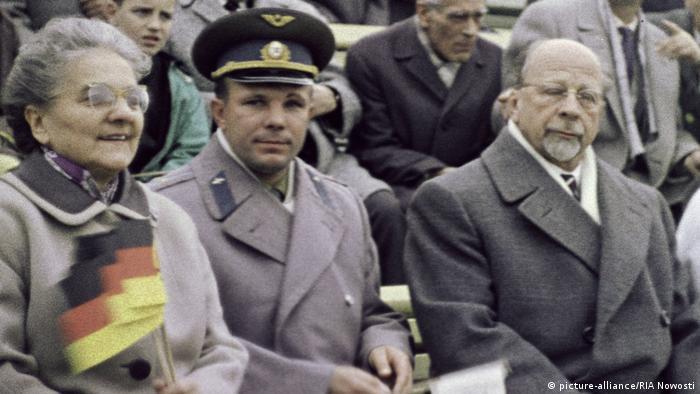 Юрий Гагарин в ГДР
