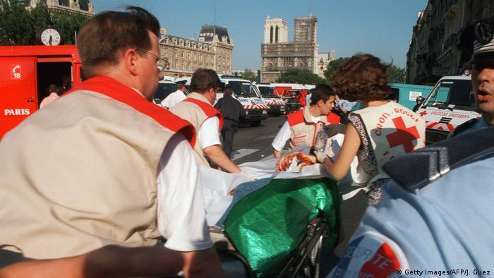 Frankreich Paris - Anschlag der Algerischen Terrorgruppe GIA 1995 (Getty Images/AFP/J. Guez)